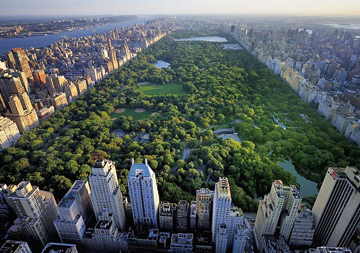 Map of Central Park Central Park New York Map on